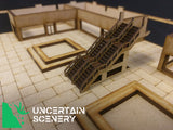 8/10mm Sunken Courtyard - Uncertain Scenery