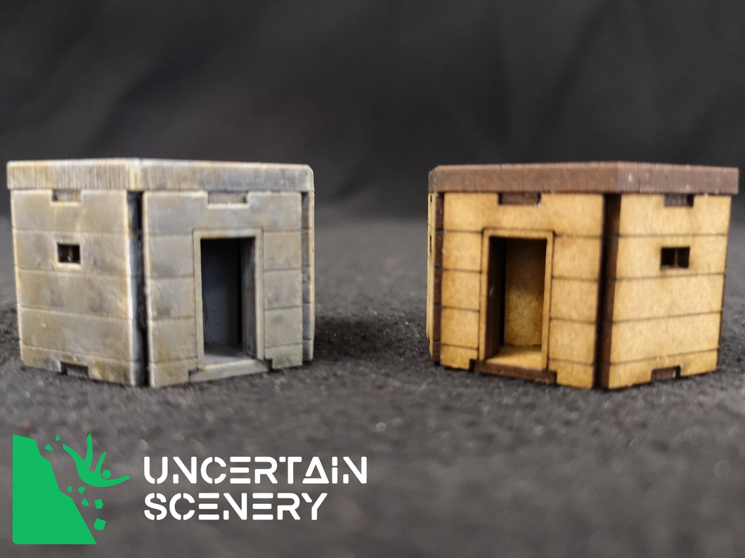 15mm Type 22 Pillbox (set of 3) - Uncertain Scenery