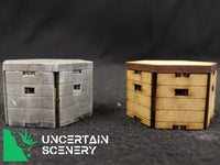 15mm Type 22 Pillbox (set of 3)