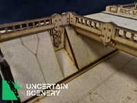 15mm Victor Sunken Motorway with Bridge - Uncertain Scenery