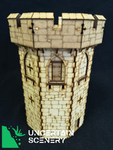 Load image into Gallery viewer, Castle Tower - MDF Terrain