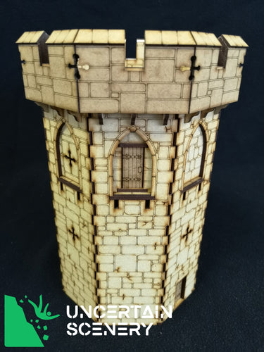 Castle Tower - MDF Terrain
