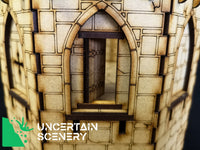 Castle Tower - Uncertain Scenery
