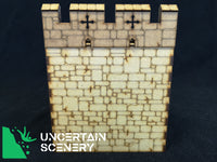 "Castle Wall Section (6"", 152mm) - Uncertain Scenery"