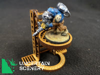 28mm Freestanding Ladders (set of 3) (Type 2) - Uncertain Scenery