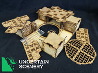 "28mm Skirmish Crossroads 2 ""The Square One"" - Uncertain Scenery"