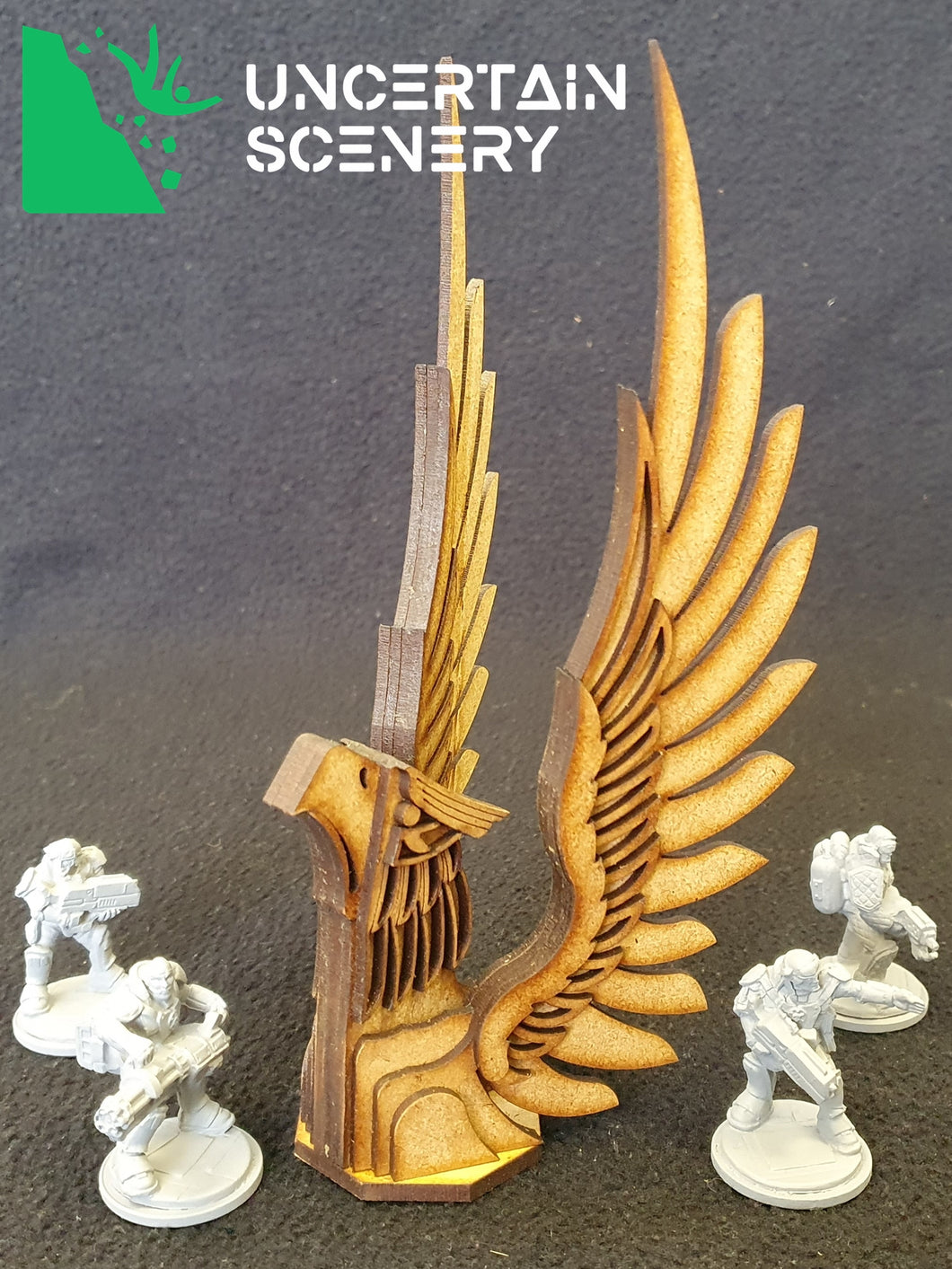 Eagle Bust Statue