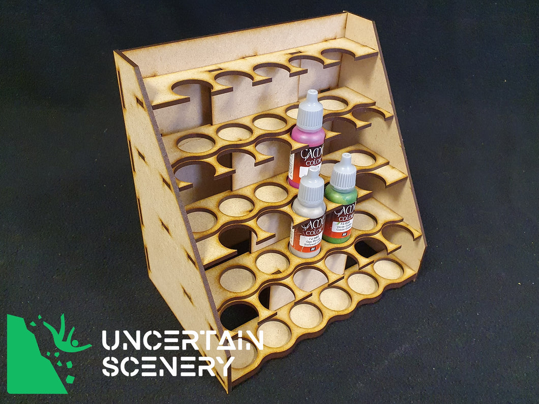 Paint Rack (22 Vallejo/Army Painter 17ml dropper bottles)