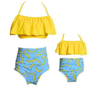 Bananas Mommy and Me Matching Swimsuit