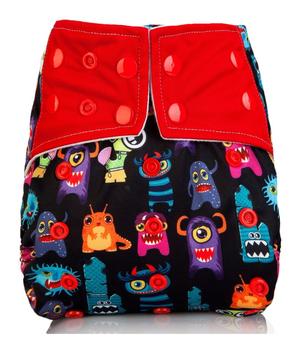 Monsters AIO Cloth Diaper