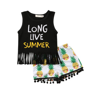 Long Live Summer Pineapple Outfit