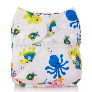 Sea Life Cloth Pocket Diaper