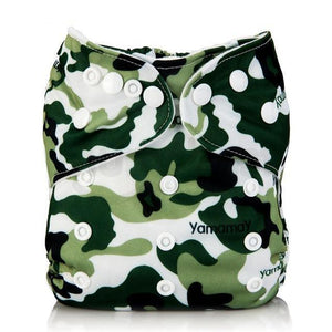 Camouflage Cloth Pocket Diaper
