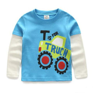 T Is For Truck Shirt