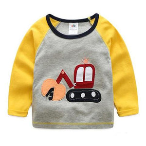 Cartoon Digger Shirt