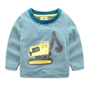 Excavator Stripes Shirt