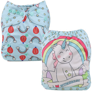 Love Unicorns Cloth Pocket Diaper