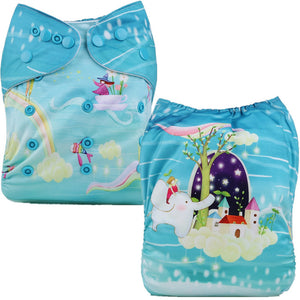 Fantasy Land Cloth Pocket Diaper