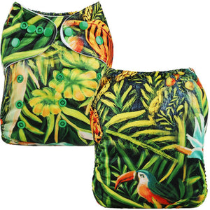 Jungle Cloth Pocket Diaper