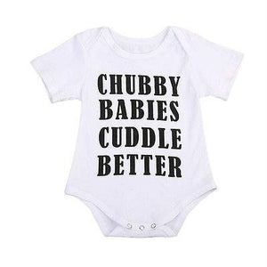 Chubby Babies Cuddle Better Bodysuit