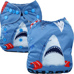 SHARK! Cloth Pocket Diaper