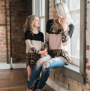 Leopard Spots Matching Shirts (Multiple Colors)