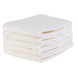 4-Layer 100% Bamboo Diaper Insert (5-Pack)
