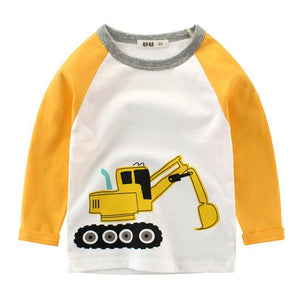 Excavator Long Sleeve Shirt