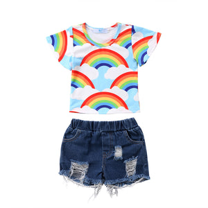 Clouds N Rainbows Outfit