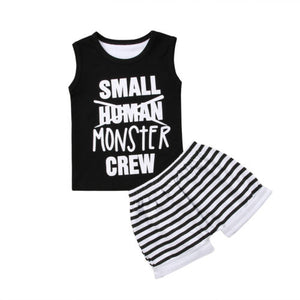 Small Monster Crew Outfit
