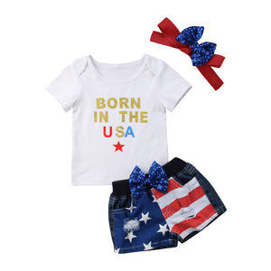 Born In The USA Outfit + Headband