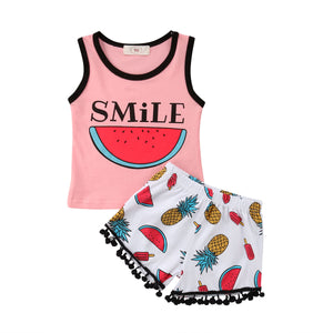 Smile Watermelon Outfit