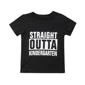 Straight Outta Kindergarten Shirt