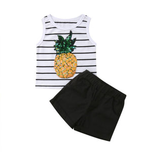 Sequined Pineapple Outfit