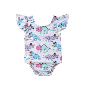 Dino Tea Party Romper