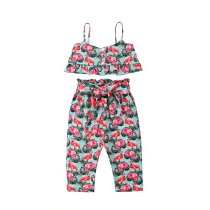 High Waist Flamingo Outfit