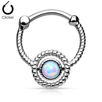 Septum Clicker With Synthetic Opal - seo-img