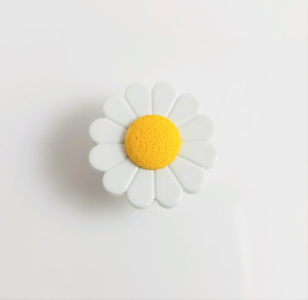 Daisy Handmade Plugs with Stainless Steel Tunnel Base - seo-img