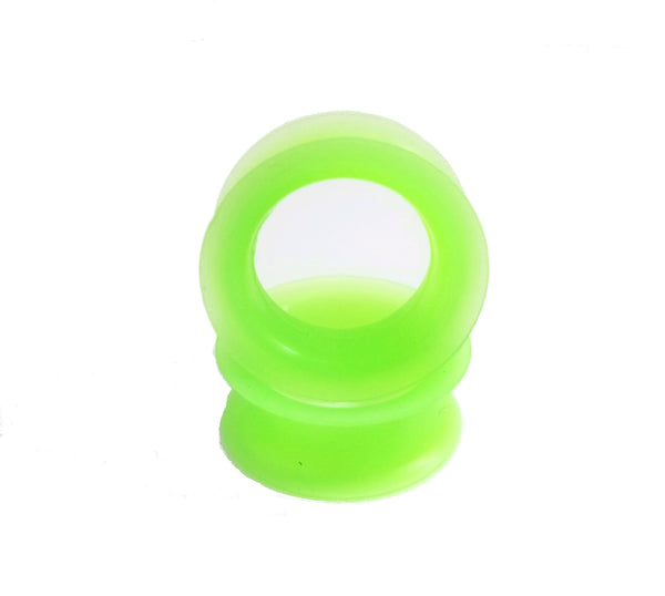 Lime Green Silicone Tunnel - seo-img