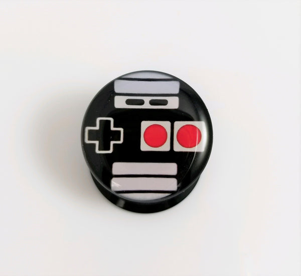 Nintendo Acrylic Plugs - Video Game Controller - seo-img