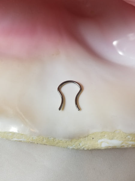 14G Septum Retainer - Surgical Steel