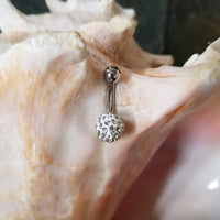 14G Clear Ferido Ball Belly Ring - Shamballa - Sold individually - seo-img