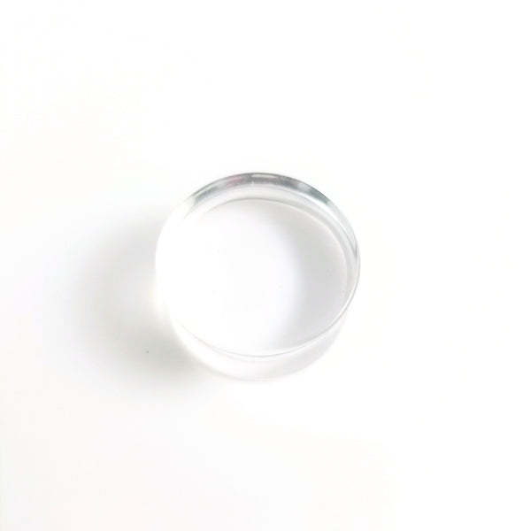 Clear Acrylic Double Flare Plugs - seo-img