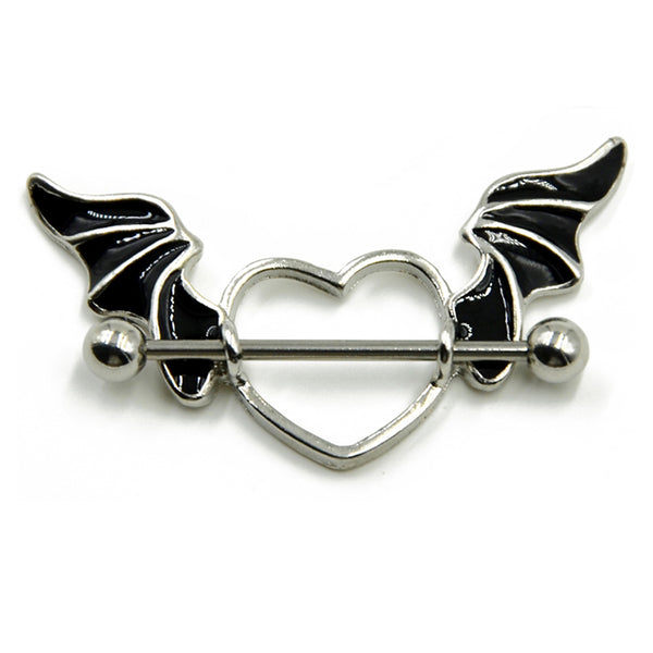 Bat Wing Heart Nipple Shield - seo-img