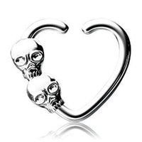 16G Skull Seamless Ring - SMALL - seo-img