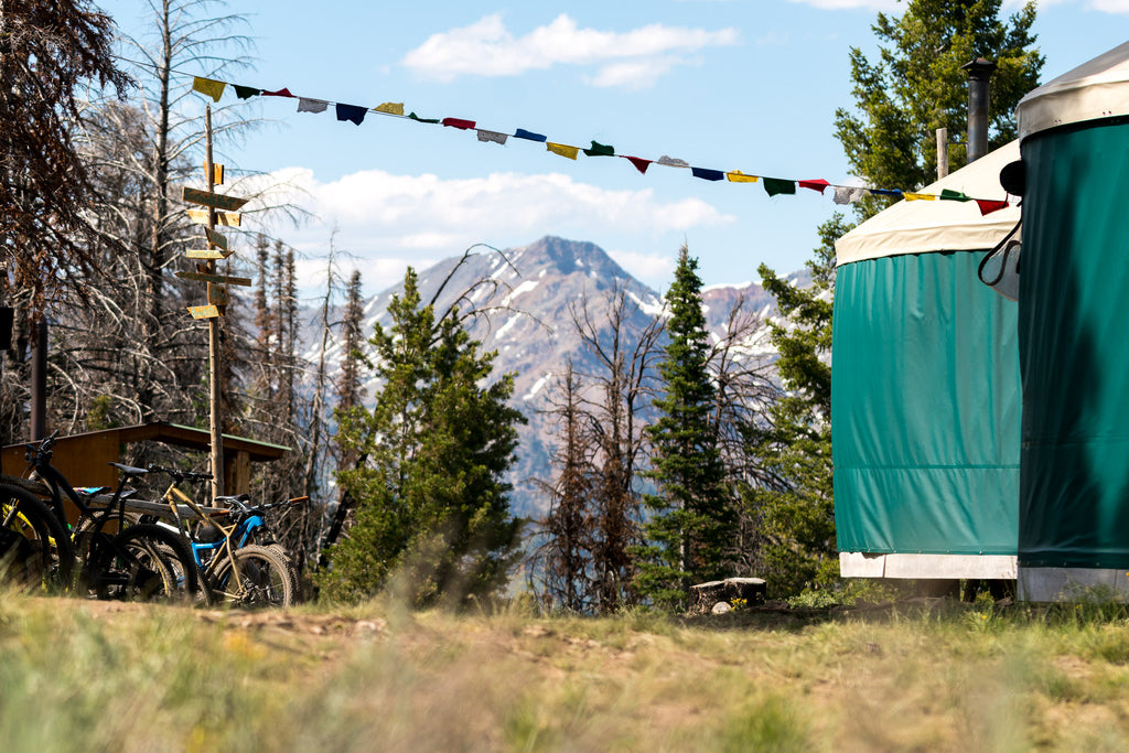 Backcountry yurt idaho