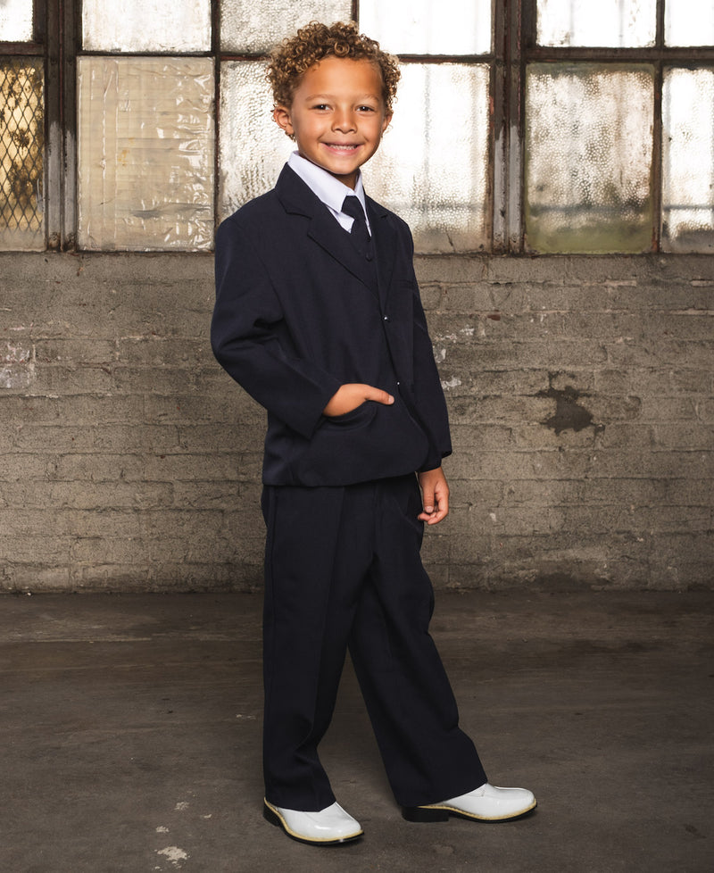 Joey Navy Children's Suit