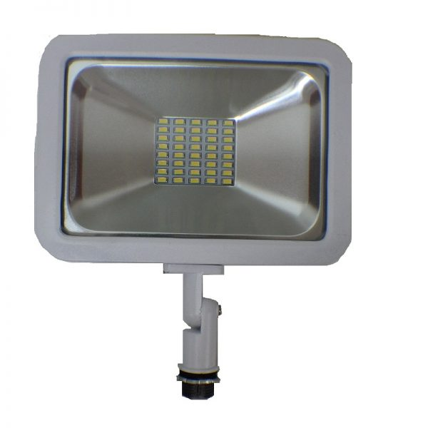 LA104-W CSFL-30A-W LED Flood Light 30W Knuckle series – 3000K/5000K UL & DLC