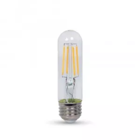 VT-5143D 4W T10 SHORT CLEAR FILAMENT BULB COLORCODE:2700K E26