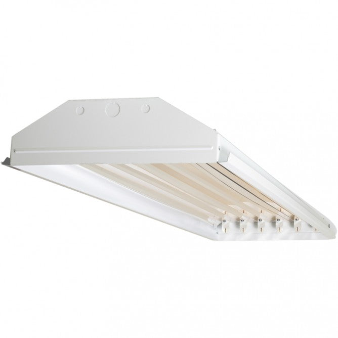 TechBrite 6 Lamp T8 LED High Bay - Single End Wired - No Lamps